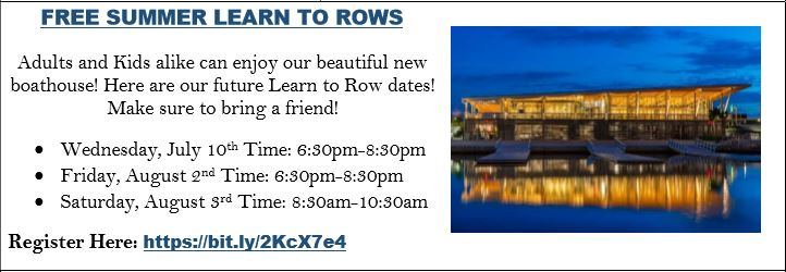 City of Tampa Free Summer Learn To Rows